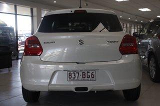 2021 Suzuki Swift AZ Series II GL Pure White Pearl 1 Speed Constant Variable Hatchback