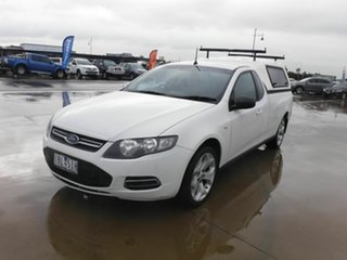 2014 Ford Falcon FG MkII EcoLPi Super Cab White 6 Speed Sports Automatic Cab Chassis