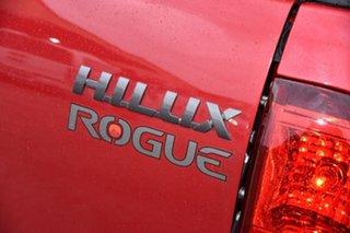 2018 Toyota Hilux GUN126R Rogue Double Cab Red 6 Speed Sports Automatic Utility
