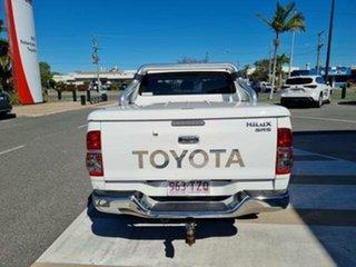 2014 Toyota Hilux KUN26R MY14 SR5 (4x4) Glacier White 5 Speed Automatic Dual Cab Pick-up.