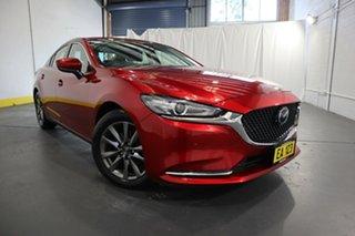 2019 Mazda 6 GL1032 Touring SKYACTIV-Drive Red 6 Speed Sports Automatic Sedan.