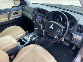 2010 Mitsubishi Pajero NT MY10 Platinum Edition Brown 5 Speed Auto Sports Mode Wagon