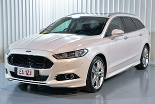 2017 Ford Mondeo MD 2017.00MY Titanium White 6 Speed Sports Automatic Dual Clutch Wagon.