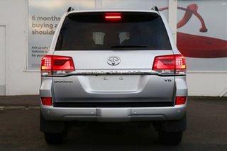 2020 Toyota Landcruiser VDJ200R Sahara Silver Pearl 6 Speed Sports Automatic Wagon