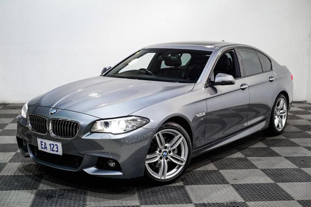 Used BMW 5 Series F10 LCI 520d Steptronic M Sport Edgewater, 2013 BMW 5 Series F10 LCI 520d Steptronic M Sport Grey 8 Speed Sports Automatic Sedan