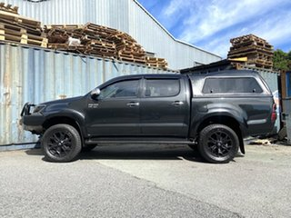 2012 Toyota Hilux GGN25R MY12 SR5 Double Cab Black 5 Speed Automatic Utility