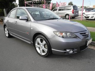 2004 Mazda 3 BK SERIES 1  SP23 Silver 4 Speed Automatic Sedan.