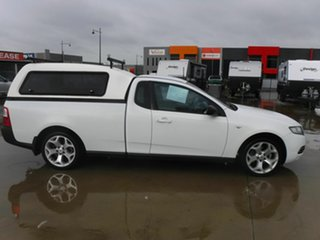 2014 Ford Falcon FG MkII EcoLPi Super Cab White 6 Speed Sports Automatic Cab Chassis.