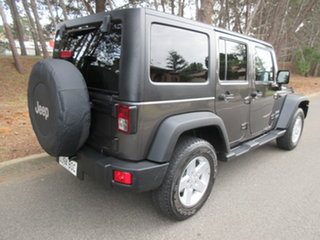 2016 Jeep Wrangler JK MY17 Unlimited Sport Granite Crystal/char 5 Speed Automatic Softtop.