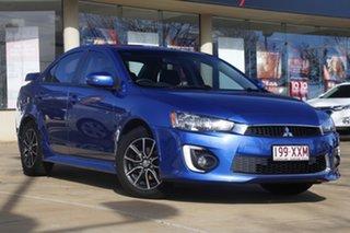 2017 Mitsubishi Lancer CF MY17 ES Sport Blue 6 Speed Constant Variable Sedan.