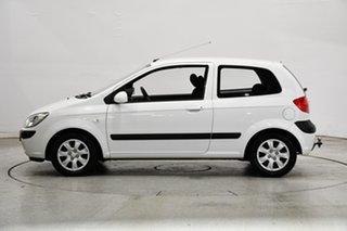 2008 Hyundai Getz TB MY07 S Noble White 4 Speed Automatic Hatchback.