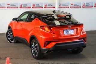 2020 Toyota C-HR NGX10R Koba S-CVT 2WD Inferno Orange & Black Roof 7 Speed Constant Variable Wagon.