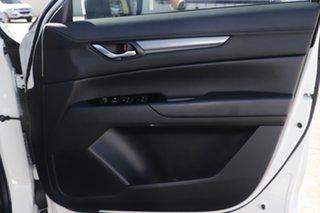 2020 Mazda CX-5 KF4WLA Touring SKYACTIV-Drive i-ACTIV AWD Snowflake White 6 Speed Sports Automatic