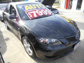 2006 Mazda 3 BK10F1 Neo Black 4 Speed Sports Automatic Sedan.