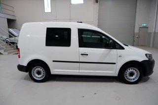 2015 Volkswagen Caddy 2KN MY15 TDI250 SWB DSG White 7 Speed Sports Automatic Dual Clutch Van