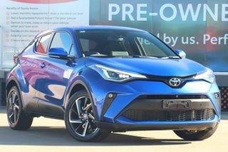 2020 Toyota C-HR NGX10R Koba S-CVT 2WD Nebula Blue 7 Speed Constant Variable Wagon.