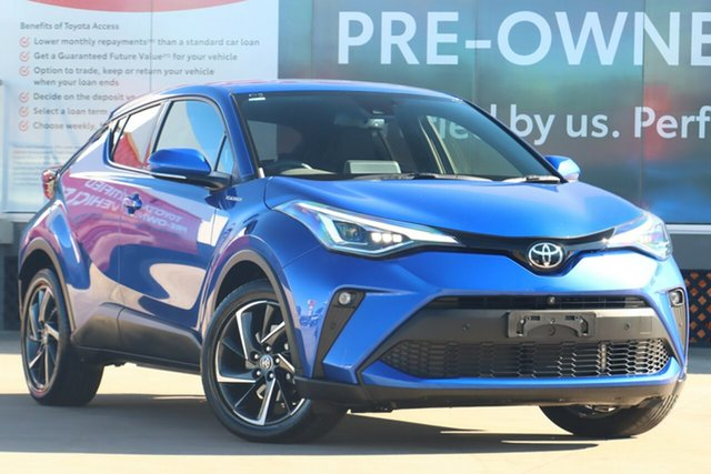 Pre-Owned Toyota C-HR NGX10R Koba S-CVT 2WD Guildford, 2020 Toyota C-HR NGX10R Koba S-CVT 2WD Nebula Blue 7 Speed Constant Variable Wagon
