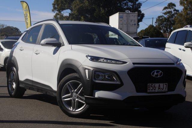 Used Hyundai Kona OS.3 MY20 Active 2WD Toowoomba, 2020 Hyundai Kona OS.3 MY20 Active 2WD White 6 Speed Sports Automatic Wagon