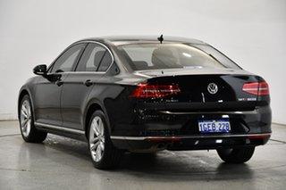 2016 Volkswagen Passat 3C (B8) MY17 140TDI DSG Highline Black 6 Speed Sports Automatic Dual Clutch