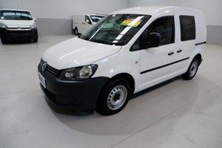 2015 Volkswagen Caddy 2KN MY15 TDI250 SWB DSG White 7 Speed Sports Automatic Dual Clutch Van.