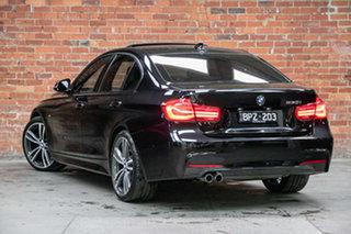 2017 BMW 3 Series F30 LCI 330i M Sport Black Sapphire 8 Speed Sports Automatic Sedan