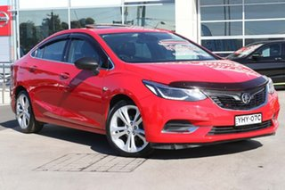 2018 Holden Astra BL MY18 LTZ Absolute Red 6 Speed Sports Automatic Sedan.