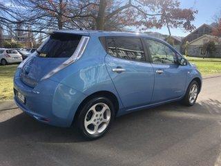 2012 Nissan Leaf ZE0 Blue 1 Speed Reduction Gear Hatchback.