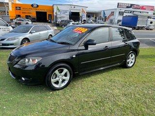 2004 Mazda 3 BK10F1 Maxx Sport Black 4 Speed Sports Automatic Hatchback
