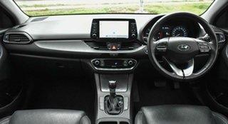 2017 Hyundai i30 PD MY18 Elite D-CT Silver 7 Speed Sports Automatic Dual Clutch Hatchback.