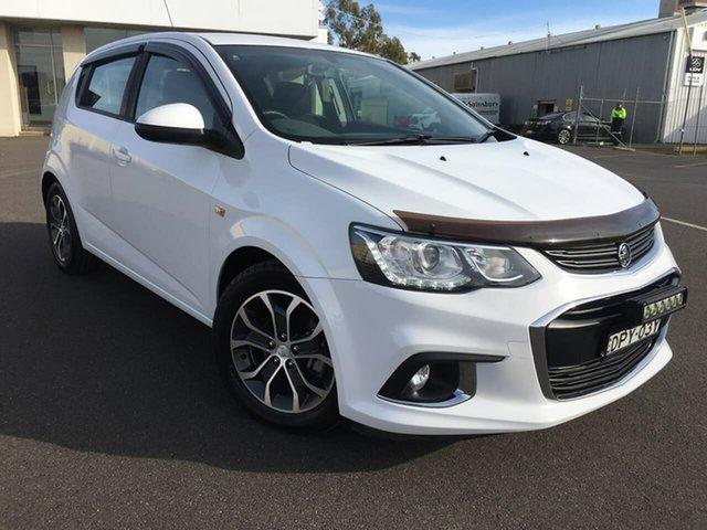 Used Holden Barina TM LS Dubbo, 2017 Holden Barina TM LS White Automatic