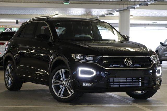 Demo Volkswagen T-ROC A1 MY21 140TSI DSG 4MOTION Sport Indooroopilly, 2021 Volkswagen T-ROC A1 MY21 140TSI DSG 4MOTION Sport Deep Black Pearl Effect 7 Speed