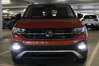 2021 Volkswagen T-Cross C1 MY21 85TSI DSG FWD CityLife Energetic Orange 7 Speed