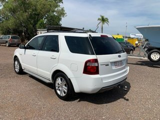 2011 Ford Territory TX White 4 Speed Auto Active Select Wagon