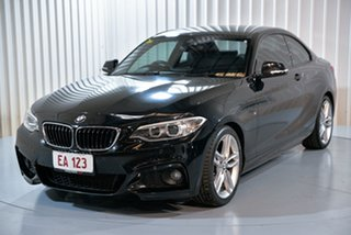 2014 BMW 220i F22 Black 8 Speed Automatic Coupe.