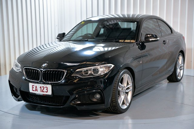 Used BMW 220i F22 Hendra, 2014 BMW 220i F22 Black 8 Speed Automatic Coupe