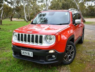 2015 Jeep Renegade BU MY15 Limited DDCT Red 6 Speed Sports Automatic Dual Clutch Hatchback.