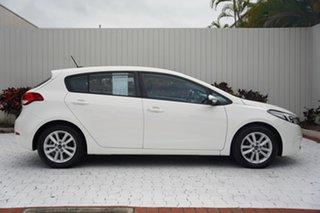 2017 Kia Cerato YD MY17 S Premium White 6 Speed Sports Automatic Hatchback.