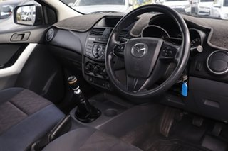 2012 Mazda BT-50 UP0YD1 XT 4x2 Titanium Grey 6 Speed Manual Cab Chassis
