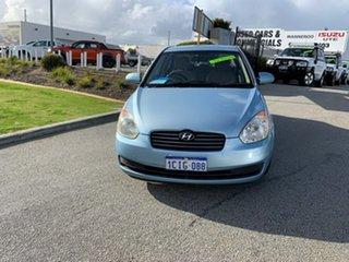 2006 Hyundai Accent MC 1.6 Blue 5 Speed Manual Sedan.
