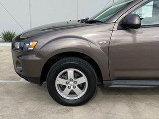 2010 Mitsubishi Outlander ZH MY10 LS Bronze 5 Speed Manual Wagon