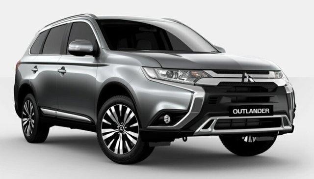 New Mitsubishi Outlander ZL MY21 LS 2WD Atherton, 2021 Mitsubishi Outlander ZL MY21 LS 2WD Silver 6 Speed Constant Variable Wagon