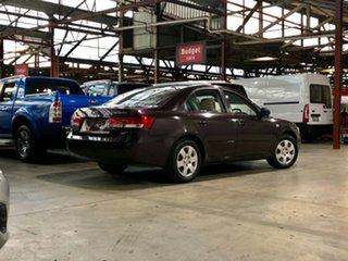 2007 Hyundai Sonata NF Purple 4 Speed Automatic Sedan