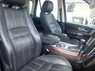 2010 Land Rover Range Rover MY10 Sport 3.0 TDV6 White Diamond 6 Speed Automatic Wagon
