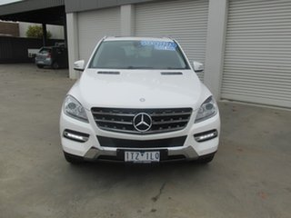 2013 Mercedes-Benz M-Class W166 ML250 BlueTEC 7G-Tronic + White 7 Speed Sports Automatic Wagon.