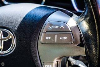 2009 Toyota Kluger GSU40R KX-S 2WD Silver 5 Speed Sports Automatic Wagon.