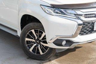 2017 Mitsubishi Pajero NX MY17 GLX White 5 Speed Sports Automatic Wagon.