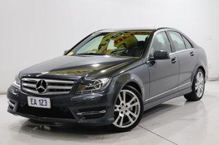 2013 Mercedes-Benz C-Class W204 MY13 C250 CDI 7G-Tronic + Avantgarde Grey 7 Speed Sports Automatic.