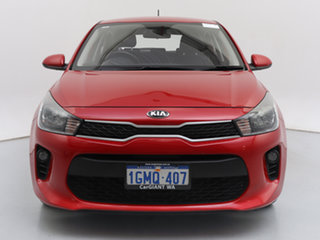 2018 Kia Rio YB MY18 S Red 4 Speed Automatic Hatchback.