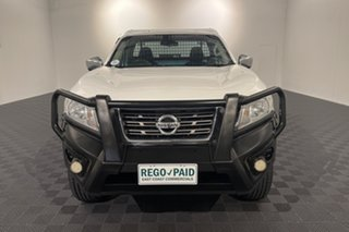 2018 Nissan Navara D23 S3 RX White 7 speed Automatic Cab Chassis.