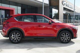 2019 Mazda CX-5 KF4WLA GT SKYACTIV-Drive i-ACTIV AWD Red 6 Speed Sports Automatic Wagon.